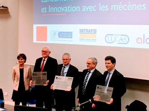 Laurent Balaine à l'inauguration de la chaire éthique et innovation de l'UCO