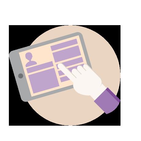 Logiciel de gestion des intervenants dans l'enseignement supérieur: Portail Web Self-Service