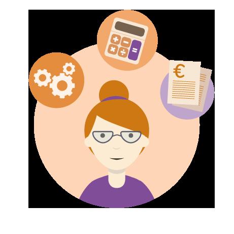 Logiciel de suivi financier pour l'enseignement supérieur: enregistrement des achats et dépenses