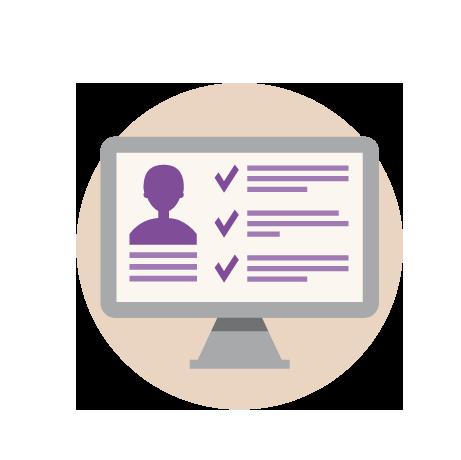 Portail web pour les étudiants en formation initiale: consultation du dossier personnel