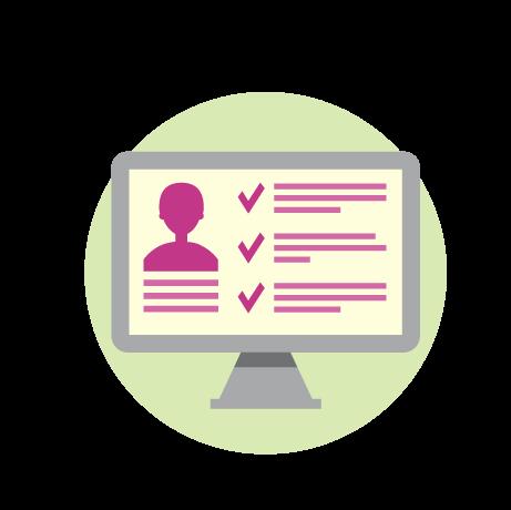 Portail web pour les stagiaires : consultation de leur dossier personnel