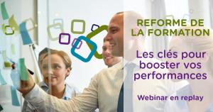 webinar les clés de la reforme de la formation