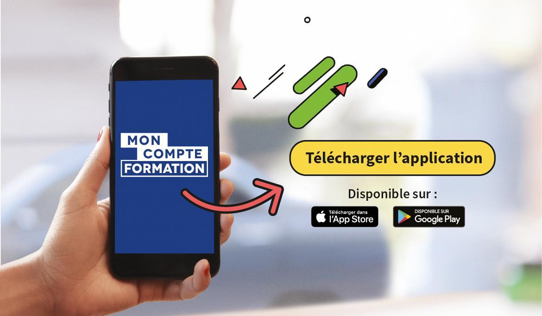 L'application mobile pour gérer son Compte Personnel de Formation