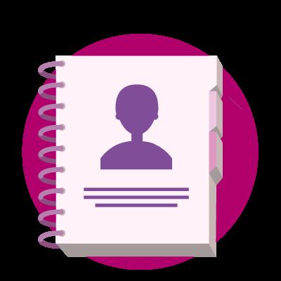Gérez l'annuaire RH des collaborateurs et l'organigramme dans l'annuaire RH de notre logiciel SIRH