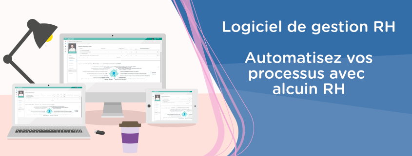 Logiciel alcuin RH d'automatisation de la gestion RH