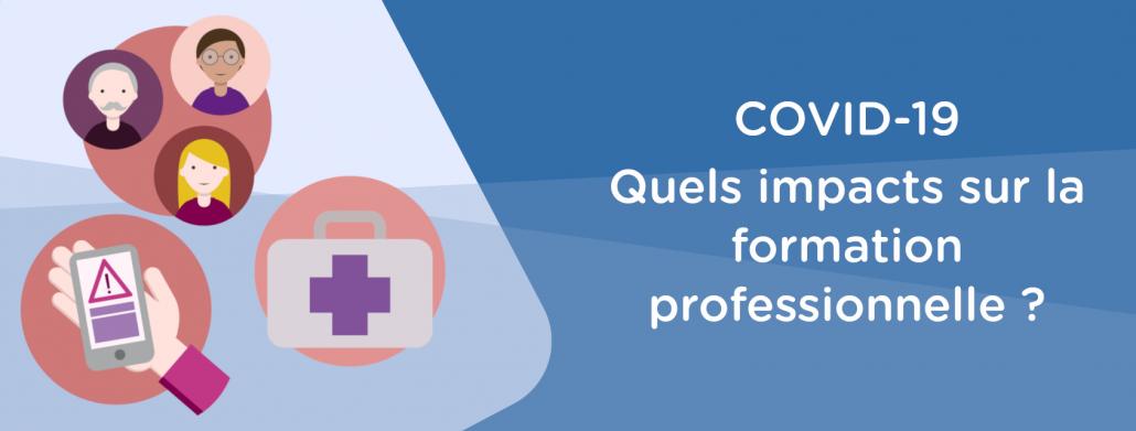 Les impacts du COVID-19 sur la formation professionnelle continue