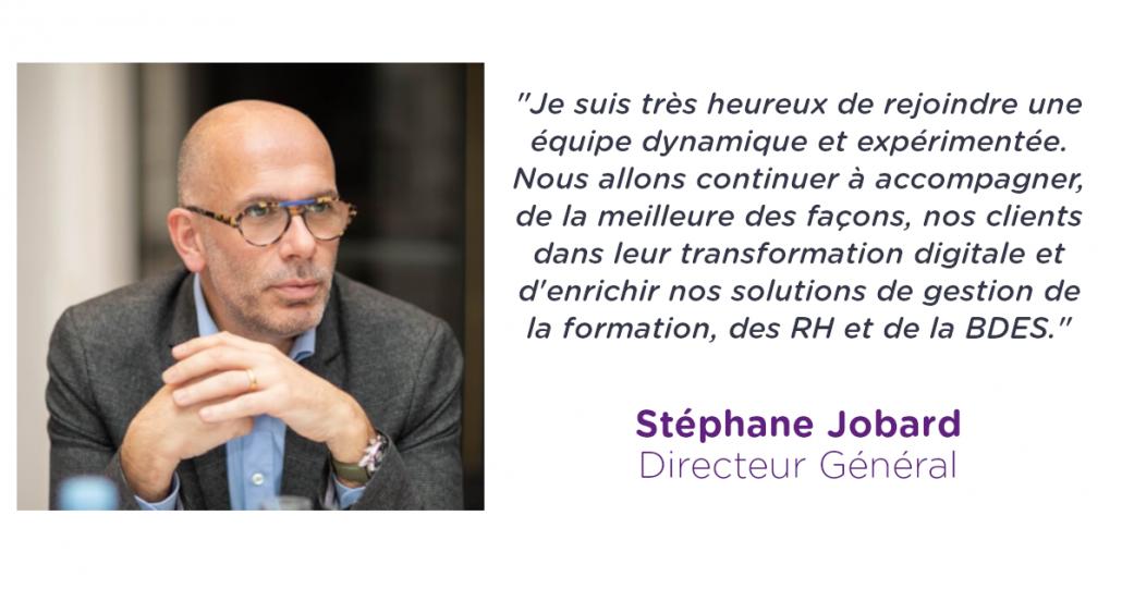 nomination stephane jobard directeur general alcuin software